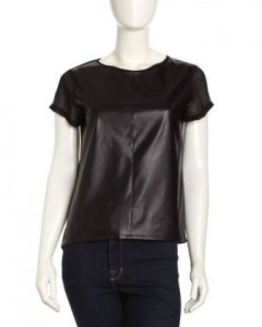 Leather Top