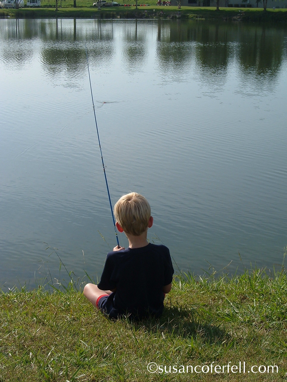 Connor Fishing