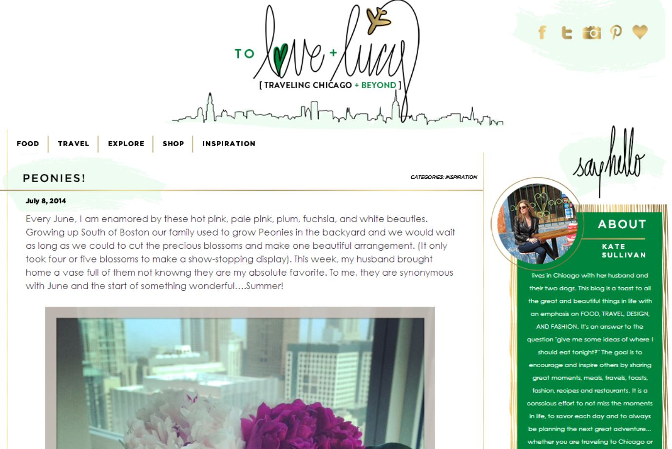 Favorite Blog