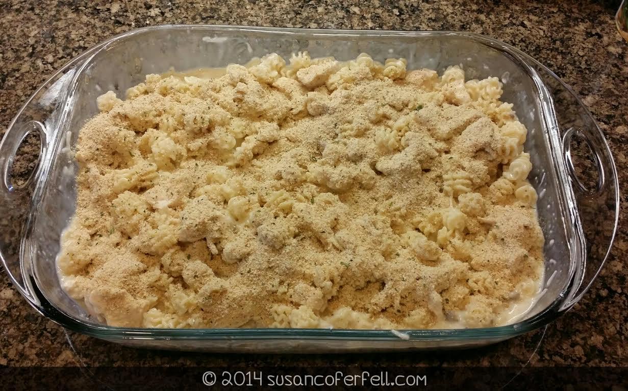Mozzarella Chicken Casserole