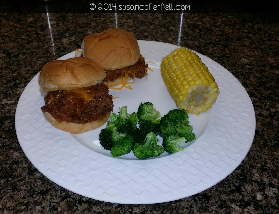 Crockpot BBQ Beef