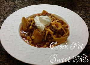Crock Pot Sweet Chili